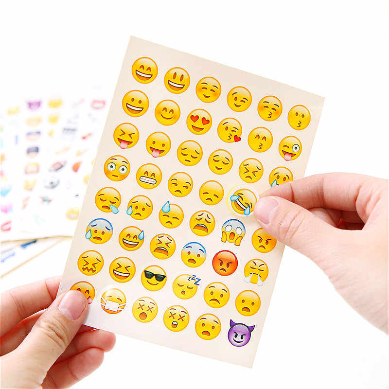 1pcs Cute Look Cancelleria Sticker FAI DA TE Pianeta di Carta Adesiva Kawaii Piante Animali Adesivi Per La Decorazione Diary Scrapbooking