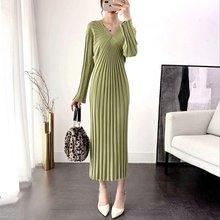 Женское трикотажное платье выше колена элегантное модное облегающее