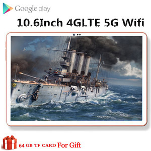 10.6 Inch phablet PC 10 Deco Core 4GB RAM 64GB 128GB ROM 4G LTE Phone Call 13MP Camera office game 5g wifi tablet Android 8.0