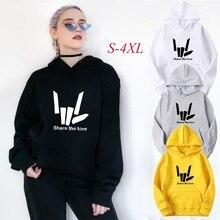 2019 Sweatshirts Womens Long Sleeve Hoody Jumper Pullover Top Blouse Printsd Sweatshirt