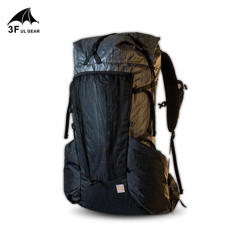 3f ul engrenagem mochila ultraleve quadro yue 45 10l caminhadas ao ar livre de acampamento leve