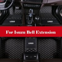 Custom car floor mats 3D car styling heavy duty all weather protection car accessorie carpet For Isuzu Bell Extension