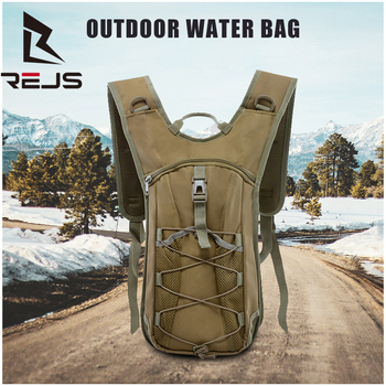 REJS LANGT Outdoor Water Bag Oxford Tactical Backpack Camping Camouflage Multifunctional Running Hiking Bags Waterproof Mochila