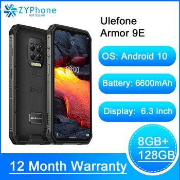Купить Андроид 10 прочный телефон на процессоре Helio P90 восьмиядерных процессор 8 ГБ 128 2,4G 5G WI-FI Mobilene 6600 мА/ч, 64MP Камера NFC Смартфон Ulefone Power 9E