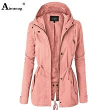 Solid Women's Autumn Jacket