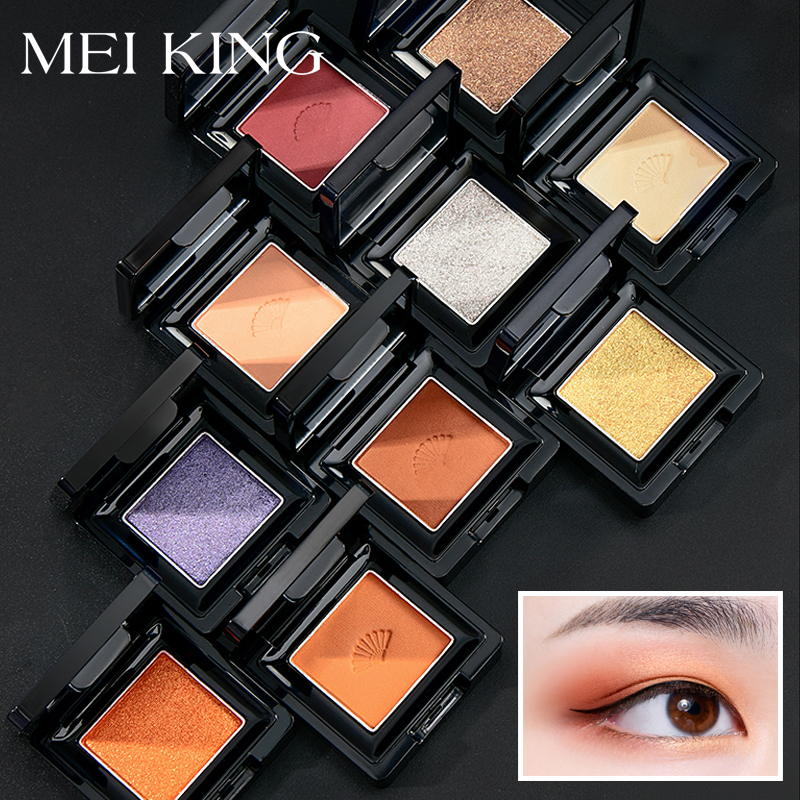 30 Colors Matte Makeup Eye Shadow Glitter Eyeshadow Pallette Palette Waterproof Pigment Make up Eyeshadow Delicate Makeup in Eye Shadow from Beauty Health