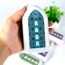 Quran Speaker Plug In Led Night Light Wall-Mounted Quran Player Key Control Zikir Ruqyah Muslim Islamic Gifts(Uk-Plug)