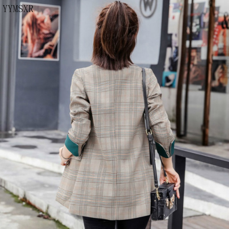 High quality elegant women's blazer coat 2020 new spring and autumn casual ladies jacket feminine Female temperament small suit