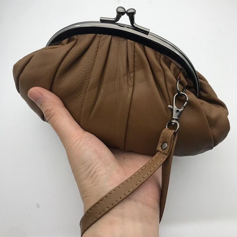 originais sacos de embreagem metal ferrolho carteira