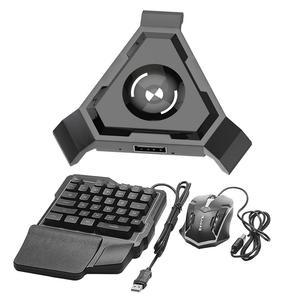 Image 5 - Vococal אלחוטי Bluetooth מקלדת משחקי עכבר ממיר מתאם עבור אנדרואיד IOS אפל נייד טלפון Tablet PUBG הישרדות כללים