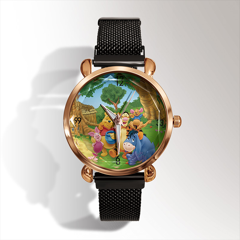 Luxury Brand Fashion 3D Cartoon Bear Quartz Watch Ladies Casual Dress Watch Children Watch Reloj Mujer Women Watch Kadin Izle