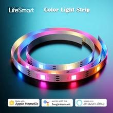 LifeSmart – bande lumineuse intelligente à LED Cololight, longueur Extensible, synchronisation de la musique rvb IP65, résistant aux intempéries, fonctionne avec Apple HomeKit Alexa