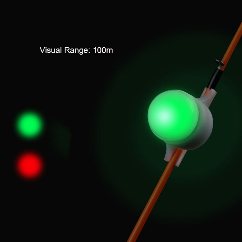 Night Fishing Light LED Alert Automatic alarm light Induction Rod Tip Warn Recognition Bite Alarm Mini Portable Fishing Tools