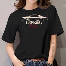 T-Shirt classique avec Silhouette de voiture musclée, Chevy Chevelle, SS, 70, 71, 72, 1970, 1971, 1972