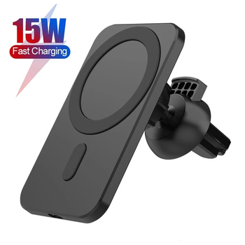 15W Strong Magnetic Wireless Car Charger Mount Stand For iPhone 12 Pro Max Mini 12Pro For Magsafe Fast Charging Car Phone Holder image