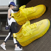 2020 Summer New Fisherman Shoes Women Jelly Bottom Lace Mesh