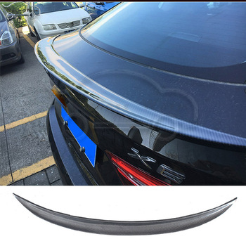For BMW X6 F16 Carbon Fiber rear spoiler wing car body kit M style 2014-UP image