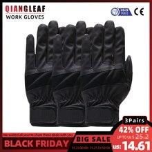 QIANGLEAF 3 sztuk rękawice robocze rękawice ochronne Pu rękawice nitrylowe wysokiej jakości ruchu ochronne darmowa wysyłka 1908