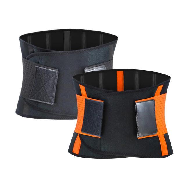 WeightLifting Waist Belt Guard Sports Equipment Belt Sweat Squat Strength Support Fitness Adjustable