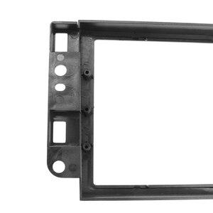 Image 5 - Двойная Рамка для автомобильного DVD плеера 2 Din, адаптер для аудио фитинга, комплекты для отделки приборной панели, Fascia Для Chevrolet Captiva/Lova/Gentra/AVEO