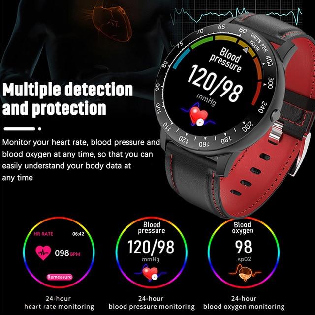 LIGE 2020 New Smart Watch Men Women Watch Heart Rate Monitor Music Control For Android/iPhone IP68 Waterproof Sport Smartwatch 4