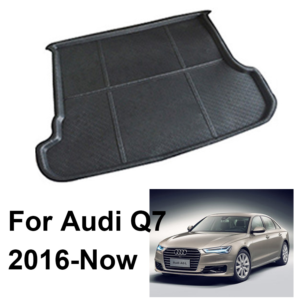 Audi Q3 2012/>2018 Rubber Boot Mat Liner Tailored Black Protector Cover