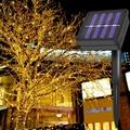 22 м/200LED солнечный светильник гирлянда для сада  Рождественский Сказочный светильник открытый водонепроницаемый  вечерние  Декор уличная ги...