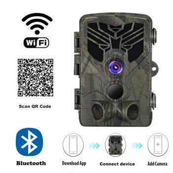 Live Show Wild Trail Camera  Wifi APP Bluetooth Control Hunting Cameras Wifi830 20MP 1080P Night Vision Wildlife  Photo Traps 2