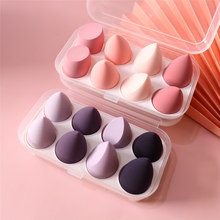 FLD Makeup Sponge Puff Egg Face Foundation Powder BB Cream Women's Beauty Dry Wet Use Soft Make Up Accessories Tools