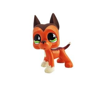 Редкий магазин домашних животных lps toys dog collie dachshund cocker spaniel great dane littlest короткие волосы кошка оригинальные подставки Рождественский подарок
