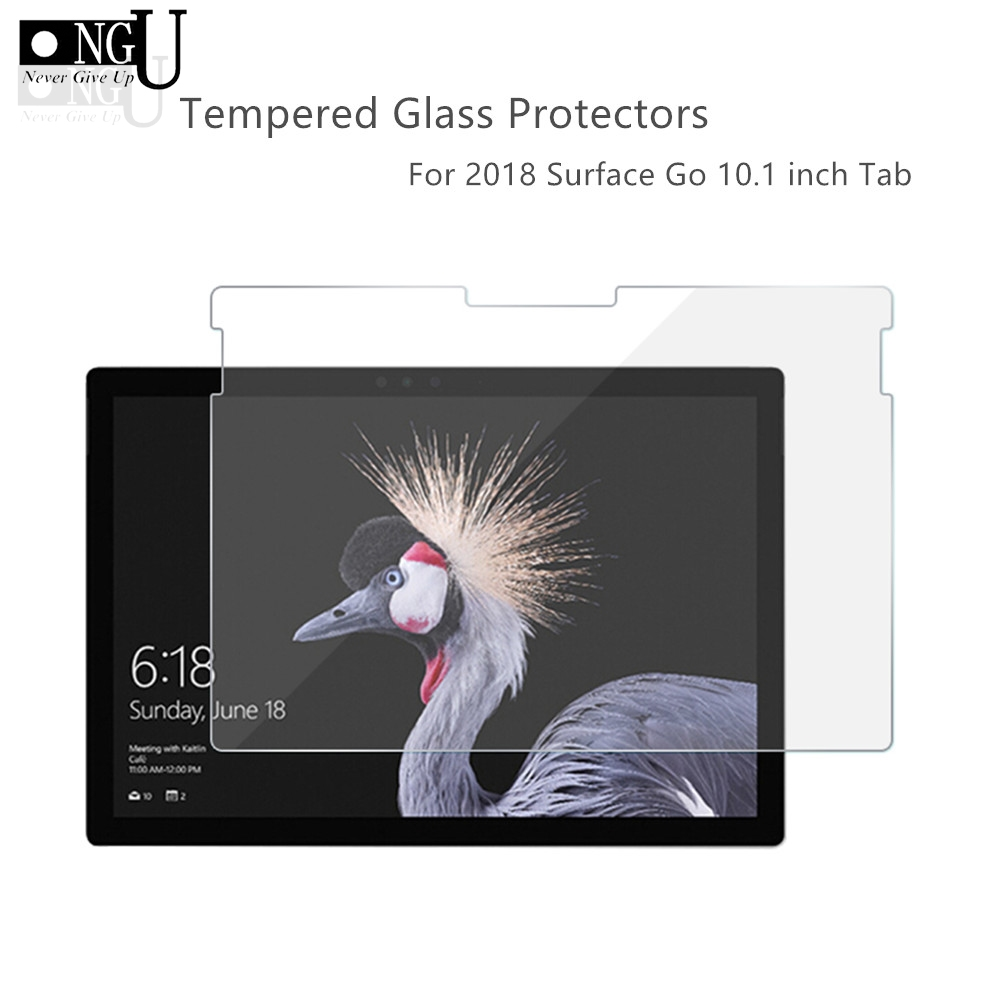 Tempered Glass For Microsoft Surface Go 10