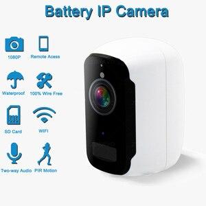 Камера видеонаблюдения, беспроводная, с питанием от аккумулятора, Wi-Fi, IP