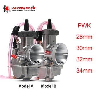 Alconstar- 28mm 30mm 32mm 34mm PWK Park carburador de la motocicleta con el poder de Jet para 125-250cc 4T Moto ATV UTV suciedad Pit Bike ciclomotor