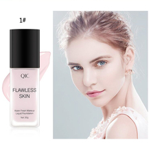 QIC 3 color pressing concealer oil control lasting makeup light moistu