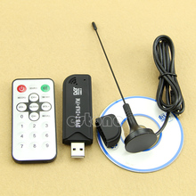 Nieuwe RTL2832U USB2.0 Digitale Dvb-t Sdr + Dab + Fm Hdtv Tv Tuner Receiver Stick
