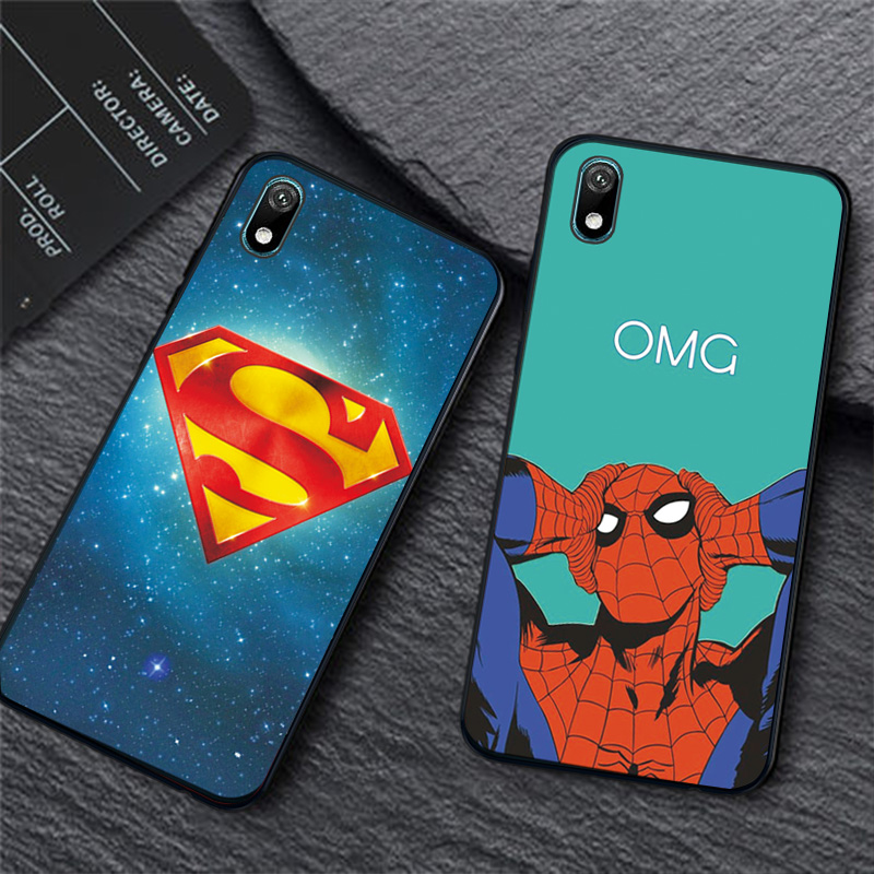 Shell case For Huawei Y5 Y6 Y7 Y9 2019 Y5 Lite Prime 2018 Honor 8S 8A with Clown and Spiderman graphics 3
