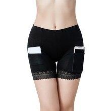 Vente-2020 Shorts de sécurité pantalons femmes été Boxer Shorts respirant sous jupe avec poches sous-vêtements amincissants filles Boyshorts