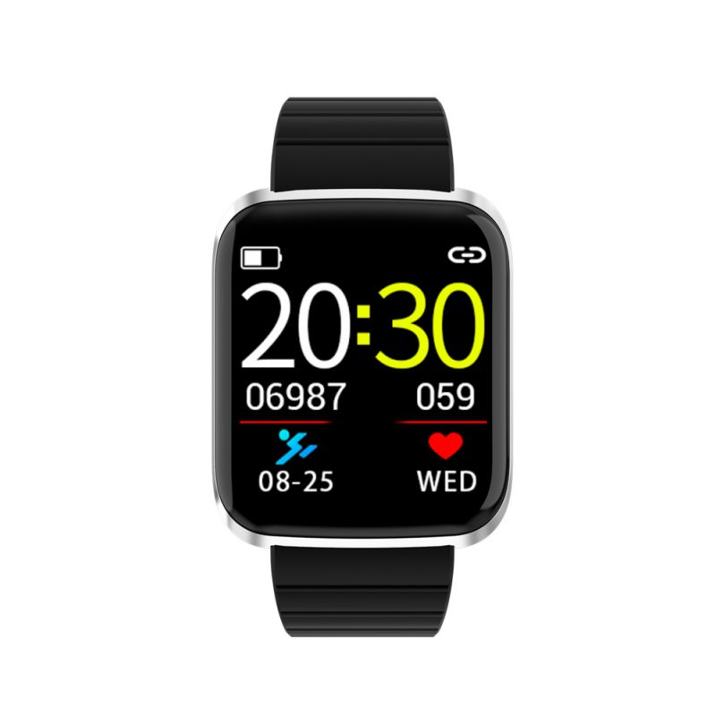 116 PRO Color Screen Smart Bracelet Bluetooth Smart Watch Bracelet Fitness Tracker Heart Rate Monitor for Android IOS Watch