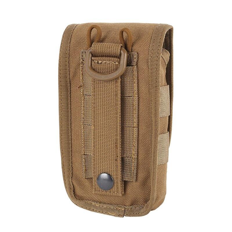 telefone móvel coque militar tático camo cinto bolsa saco