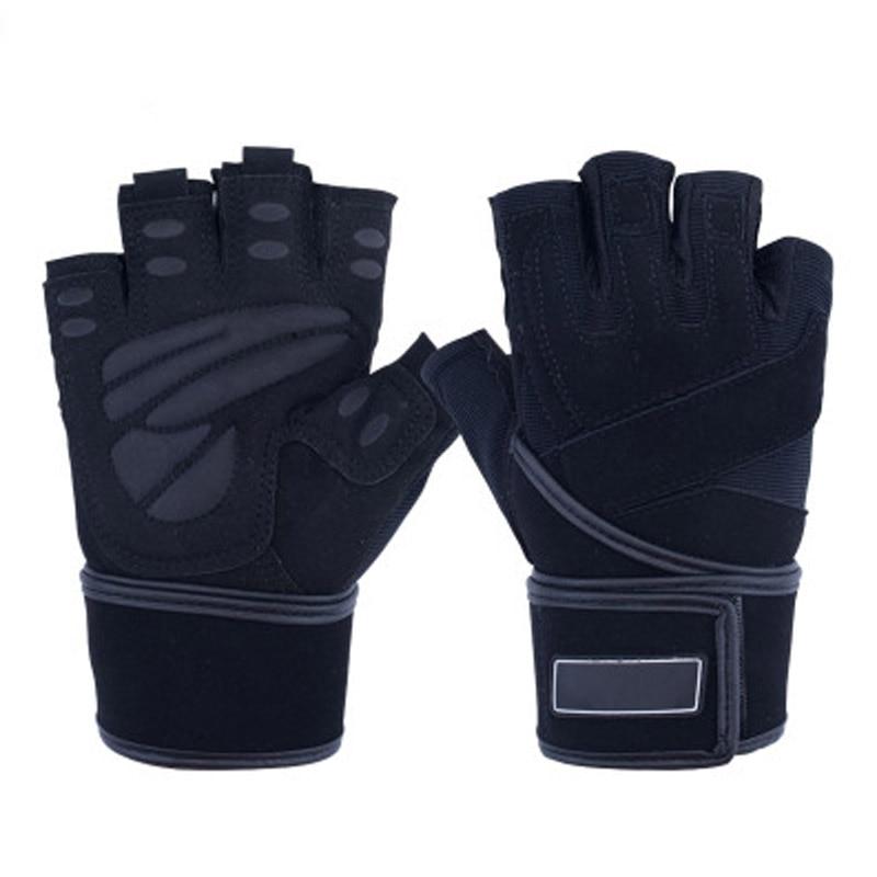 Fitness Half Finger Gloves Training Fitness Non-slip Sports Mesh Breathable Gloves