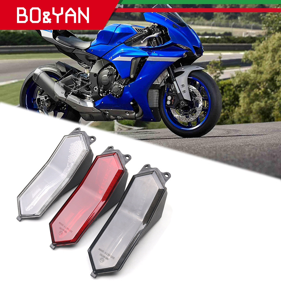 For Yamaha R1 R6 YZF-R6 YZF-R1 2015-2019 Motorcycle Rear Tail Light Brake Signals Integrated LED Taillight