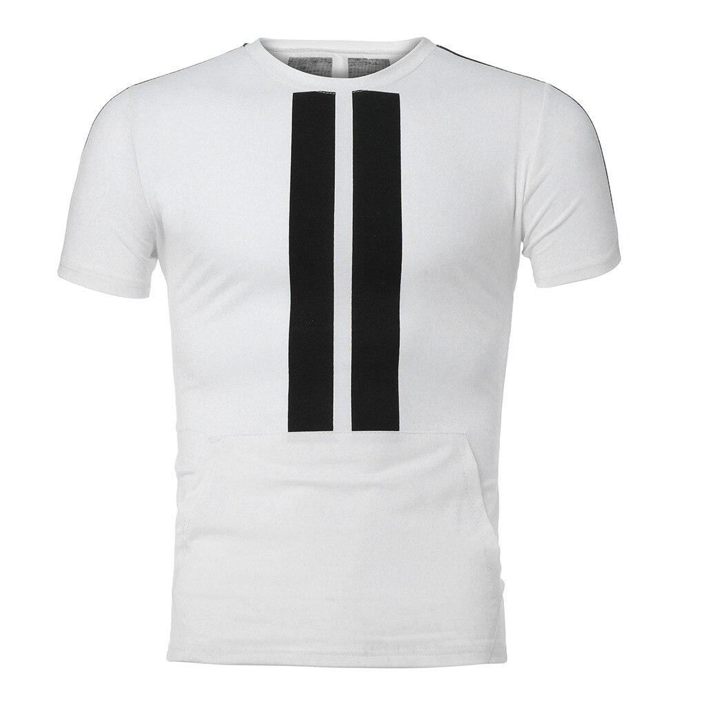 Men's 2 Piece Ensemble Summer Short Sleeve Casual Short Sportswear Black Blue White Casual Fashion Various Color Sets