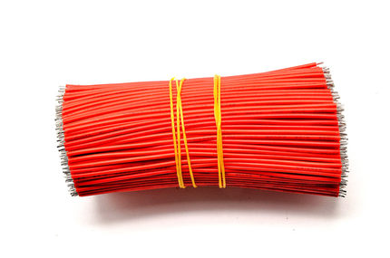100pcs/Lot Tin-Plated Breadboard Jumper Cable Wire 15cm/5cm 24AWG For Arduino 5 Colors Flexible Two Ends PVC Wire Electronic
