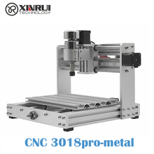 CNC 3018pro-METAL GRBL control Diy CNC machine,3 Axis pcb Milling machine,Wood Router support laser engraving diy mini cnc milling machine ly 4040 full aluminum pcb engraving for metal 3 4 axis wood router 1 5kw 2 2kw 3 5kw