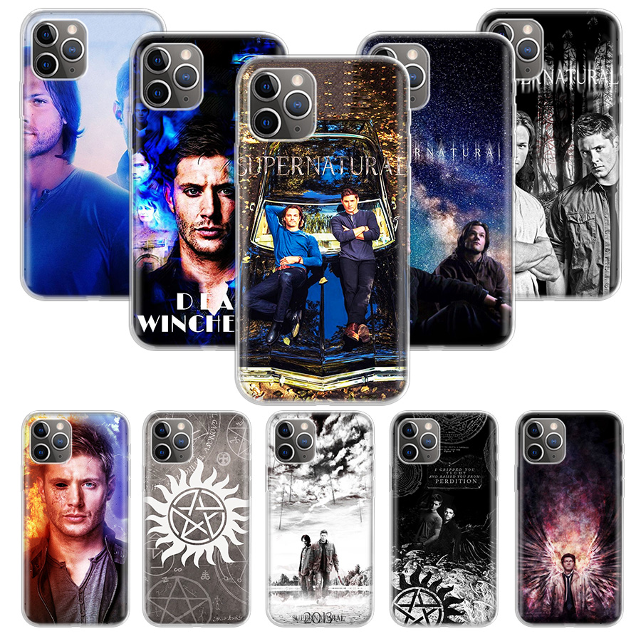 Supernatural SPN Jensen Ackles Case for Apple iphone 11 Pro XS Max XR X 7 8 6 6S Plus 5 5S SE 10 Ten Gift Silicone Phone Cover C image