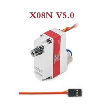 KST X08N V5.0 Metal Gear 2.7kg.cm@7.4V 9g Digital Wing Coreless Servo for RC Model Operation Voltage 3.8-8.4V