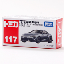 Vehicle TOY Tomica Supra Toyota Gr Metal Diecast Car-Limited-Edition 1:60 NO NO.117