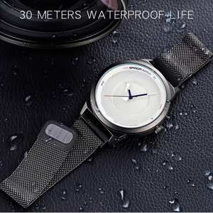 30M Waterproof Quartz Watch Men Watch Stainless Steel Watch For Men Wristwatch Mens zegarki meskie zegarek męski relojes hombre
