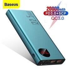 Baseus 20000mAh Power Bank Universal Quick Charge 3.0 Mobile