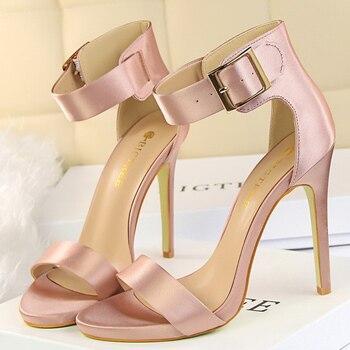 Summer Concise  11.5cm Sandals High Heels   3